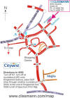 Small map of Citywest